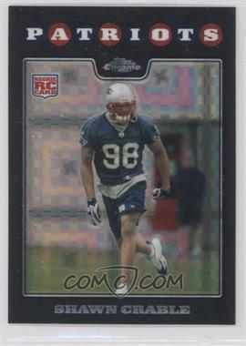 2008 Topps Chrome - [Base] - X-Fractor #TC258 - Shawn Crable
