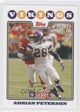2008 Topps Kickoff - [Base] - Kickoff Edition #114 - Adrian Peterson /1349