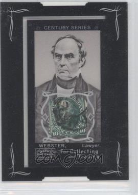 2008 Topps Mayo - Mini Century Series Framed Relics - [Memorabilia] #CSR-WS - Daniel Webster