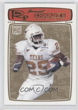 2008 Topps Rookie Progression - [Base] - Gold #217 - Jamaal Charles /199