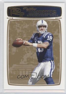 2008 Topps Rookie Progression - [Base] - Gold #56 - Peyton Manning /199