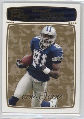 2008 Topps Rookie Progression - [Base] - Gold #87 - Terrell Owens /199