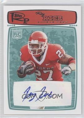 2008 Topps Rookie Progression - [Base] - Rookie Autographs Red [Autographed] #200 - Ray Rice /79