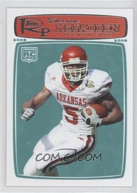 2008 Topps Rookie Progression - [Base] #169 - Darren McFadden