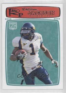 2008 Topps Rookie Progression - [Base] #178 - DeSean Jackson