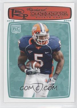 2008 Topps Rookie Progression - [Base] #198 - Rashard Mendenhall