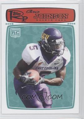 2008 Topps Rookie Progression - [Base] #207 - Chris Johnson