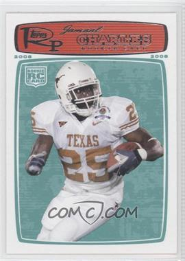 2008 Topps Rookie Progression - [Base] #217 - Jamaal Charles
