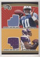 Vince Young, Adrian Peterson [EX to NM] #/25