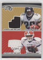 Fred Taylor, Andre Caldwell [EXtoNM] #/50