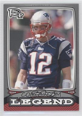 2008 Topps Rookie Progression - Legends - Silver #PL-TB - Tom Brady /299