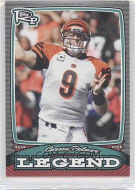 2008 Topps Rookie Progression - Legends #PL-CP - Carson Palmer