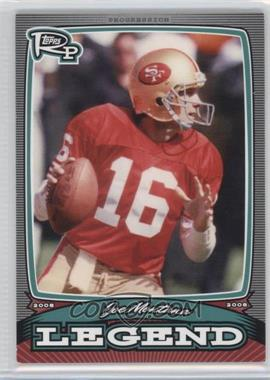 2008 Topps Rookie Progression - Legends #PL-JM - Joe Montana