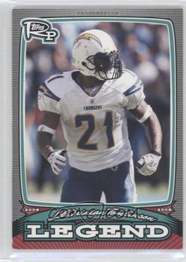 2008 Topps Rookie Progression - Legends #PL-LT - LaDainian Tomlinson