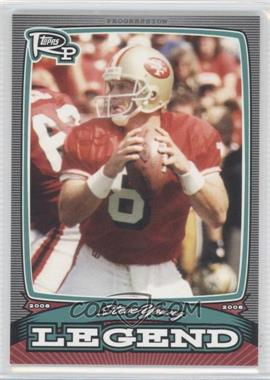 2008 Topps Rookie Progression - Legends #PL-SY - Steve Young