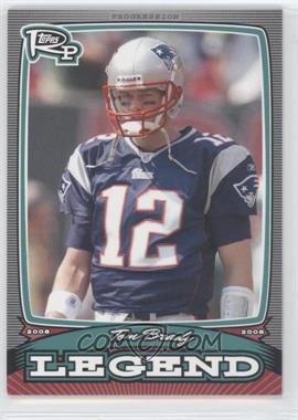 2008 Topps Rookie Progression - Legends #PL-TB - Tom Brady