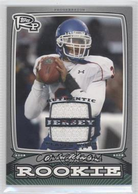 2008 Topps Rookie Progression - Rookies - Silver Jerseys [Memorabilia] #PR-AW - Andre' Woodson /199