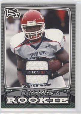 2008 Topps Rookie Progression - Rookies - Silver Jerseys [Memorabilia] #PR-DA - Donnie Avery /199