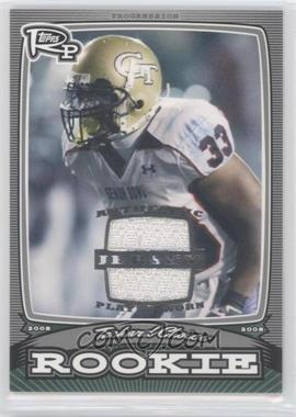 2008 Topps Rookie Progression - Rookies - Silver Jerseys [Memorabilia] #PR-TC - Tashard Choice /199