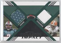 Chad Henne, Braylon Edwards #/50