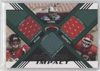 Matt Ryan, Jake Long, Glenn Dorsey #/50