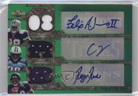 Felix Jones, Chris Johnson, Ray Rice /4