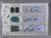 Brian Brohm, Chad Henne, Matt Ryan #/1