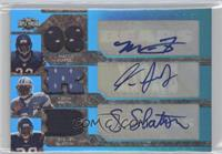 Matt Forte, Steve Slaton, Kevin Smith #/2