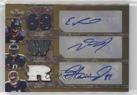 James Hardy, DeSean Jackson, Eddie Royal #/15