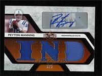 Peyton Manning #/3