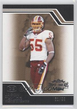 2008 Topps Triple Threads - [Base] - Gold #83 - Jason Taylor /99