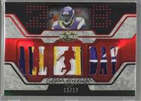 Adrian Peterson [Noted] #/17
