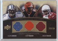 Calvin Johnson, Anquan Boldin, Chad Johnson /40