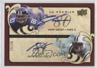 Jeremy Shockey, Dustin Keller /25