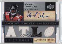 Premier Rookie Signature Memorabilia - Harry Douglas #/60