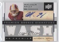 Premier Rookie Signature Memorabilia - Malcolm Kelly #/60