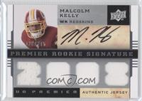 Premier Rookie Signature Memorabilia - Malcolm Kelly #/275