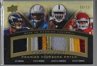 Jay Cutler, Philip Rivers, JaMarcus Russell, Brodie Croyle [Noted] #/15
