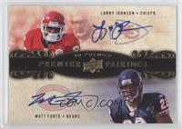 Matt Forte, Larry Johnson /50