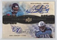 David Garrard, Chris Johnson /50