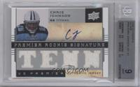 Chris Johnson /60 [BGS 9]