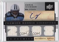Chris Johnson [Noted] #/275
