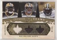 Reggie Bush, Drew Brees, Marques Colston #7/65