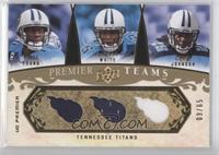 Vince Young, LenDale White, Chris Johnson #/65