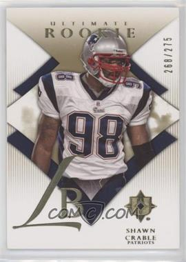 2008 Ultimate Collection - [Base] #193 - Shawn Crable /275