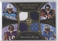 Steve Slaton, Ray Rice, Chris Johnson, Kevin Smith /50