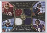 Eddie Royal, Chris Johnson, Ray Rice, Malcolm Kelly /50