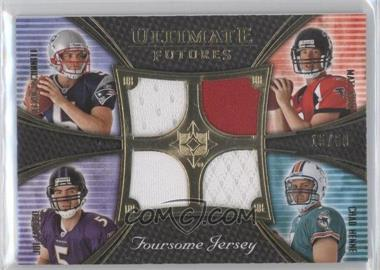2008 Ultimate Collection - Ultimate Futures Foursomes Jerseys - Gold #UFRJ-7 - Matt Ryan, Chad Henne, Kevin O'Connell, Joe Flacco /50