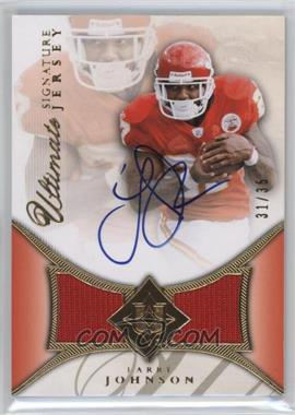 2008 Ultimate Collection - Ultimate Signature Jerseys #UAJ-23 - Larry Johnson /35