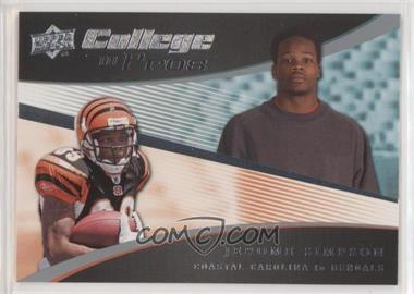 2008 Upper Deck - College to Pros #CP29 - Jerome Simpson